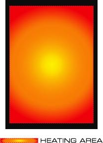 Velika grijana povšina ALPENHEAT Heating Element FIRE-doITyourself