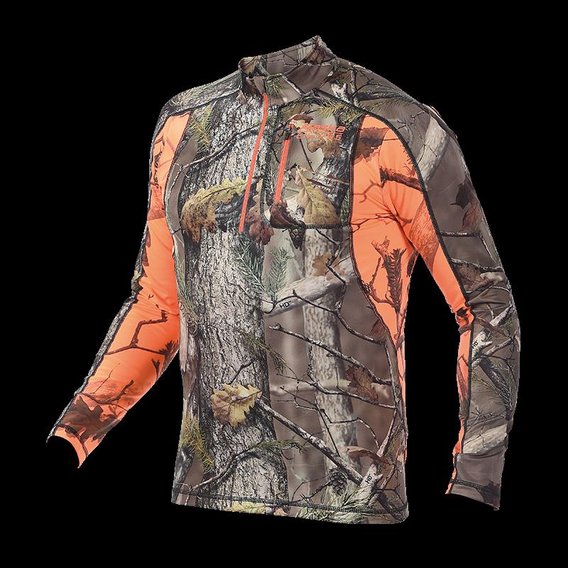 Alaska Half-Zip majica BlindMax HD
