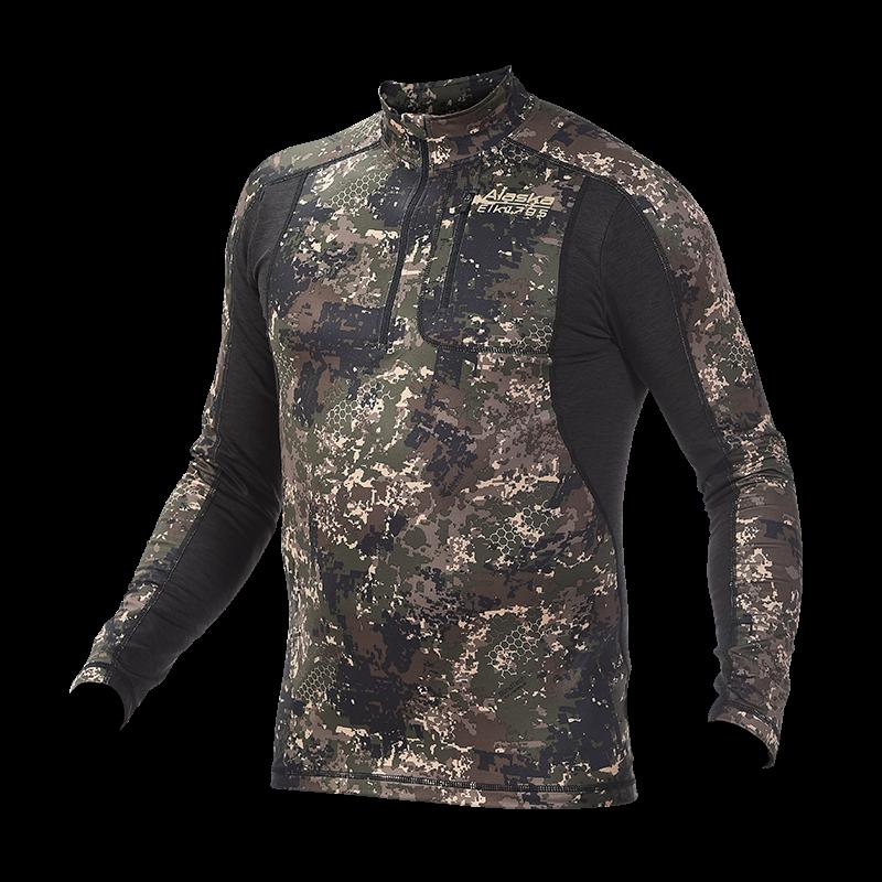 Alaska Half-Zip majica BT Invisible 240g