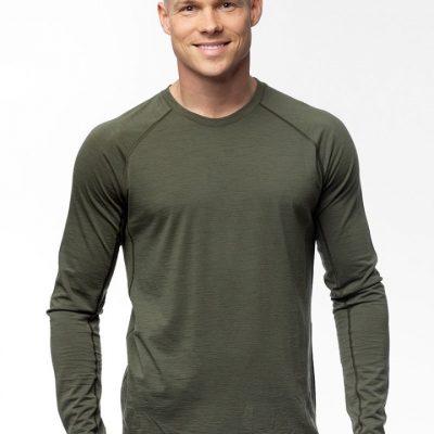 Alaska majica Mid Layer - Merino