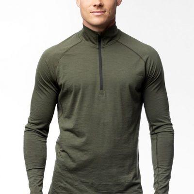 Alaska majica Half-Zip - Merino