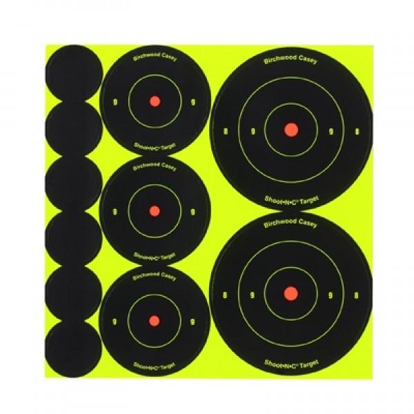 """Meta Birchwood Casey Set Bulls-Eye Target 2+3"""""""