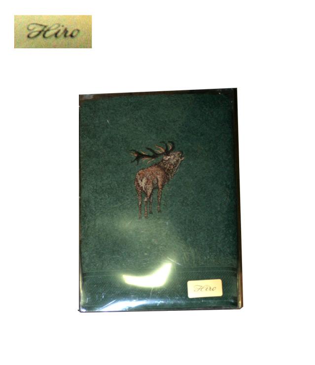 Ručnik motiv lov zeleni