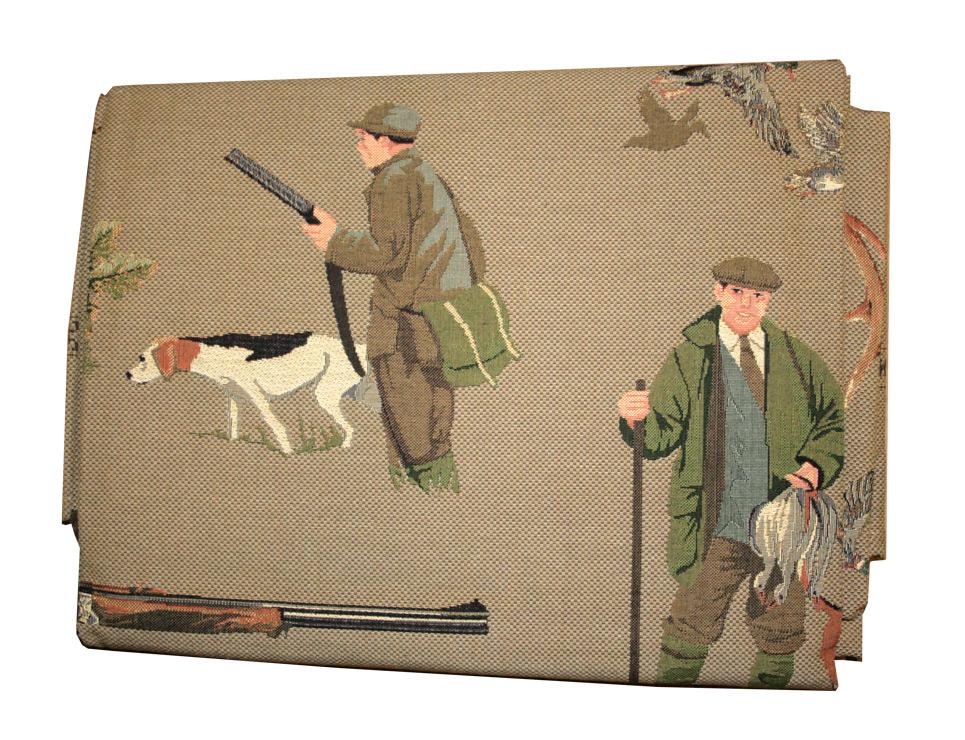 Stolnjak Lovergreen motiv lovci 150x200
